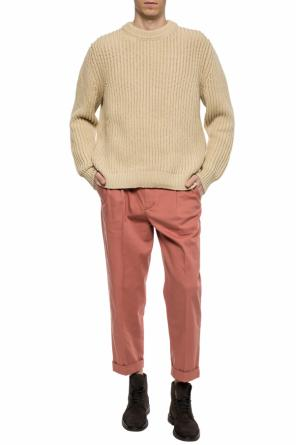 Rib-knit sweater od Acne