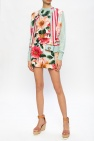 Dolce & Gabbana Floral silk cardigan