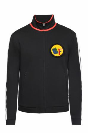 Sweatshirt with patch od Fendi