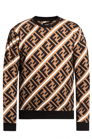 Sweatshirt with logo od Fendi