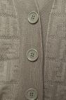 Fendi Logo-embroidered cardigan