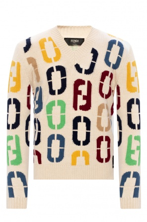 Logo sweater od Fendi