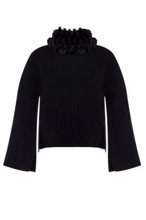 Cashmere turtleneck sweater od Fendi