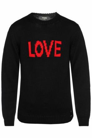 'love' sweater od Fendi