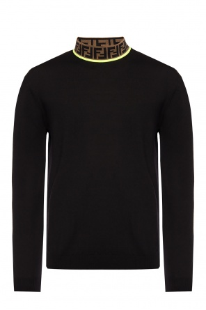 Band collar sweater od Fendi