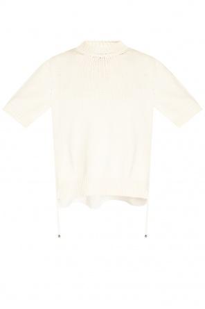 Appliquéd sweater od Moncler