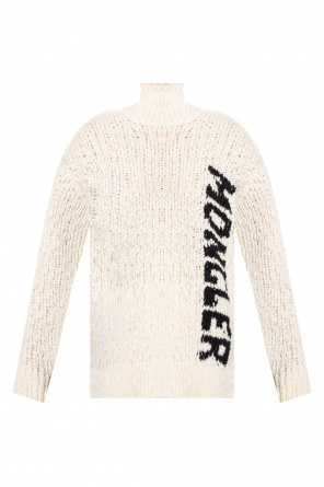 Knitted turtleneck sweater od Moncler