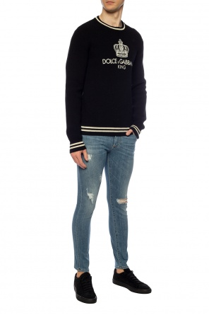 Sweater with logo od Dolce & Gabbana