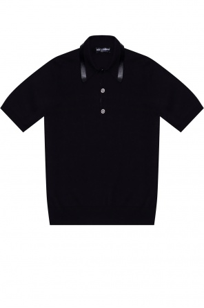 Polo shirt with logo od Dolce & Gabbana