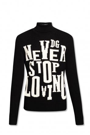 Wool turtleneck sweater od Dolce & Gabbana