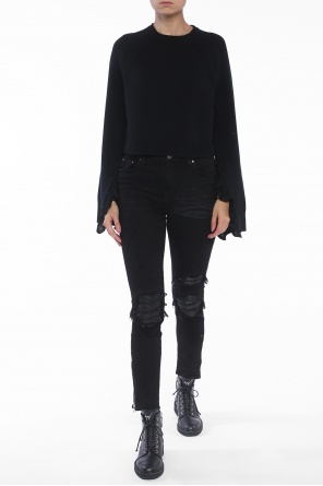 Cropped sweater od Helmut Lang