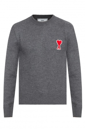 Logo-patched sweater od Ami Alexandre Mattiussi