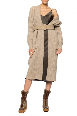 Long belted cardigan od Ami Alexandre Mattiussi