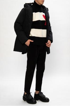 Patterned turtleneck sweater od Ami Alexandre Mattiussi