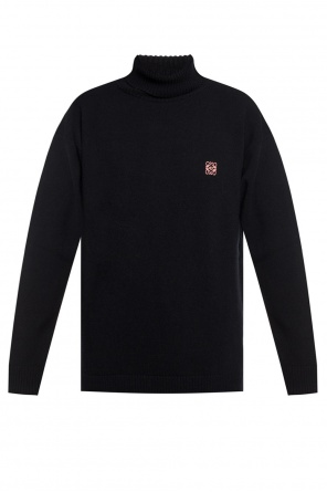 Logo-embroidered sweater od Loewe