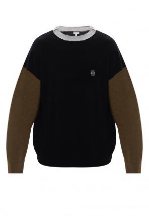 Colour-block sweater od Loewe