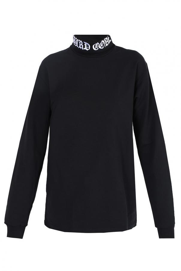 Embroidered turtleneck sweater MISBHV
