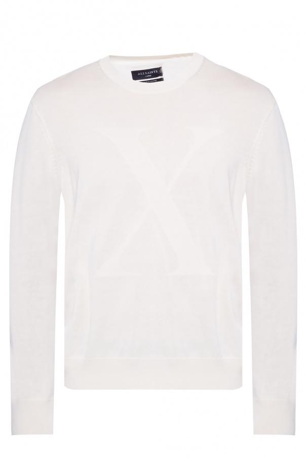 AllSaints 'Hidden' sweater with logo