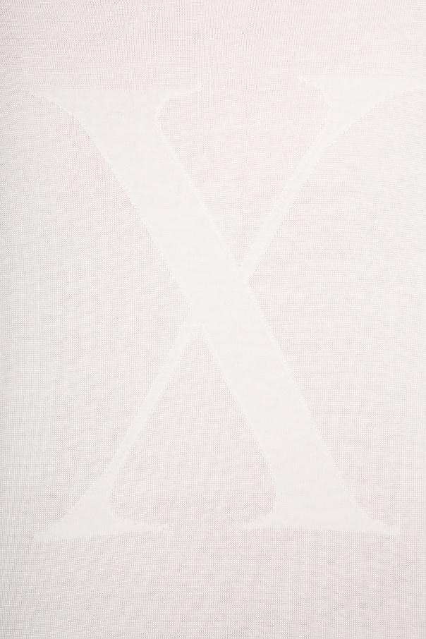 AllSaints Sweter z logo 'Hidden' a6iW8xNH