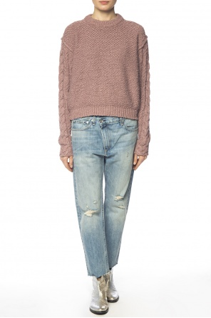 Braided sweater od Acne