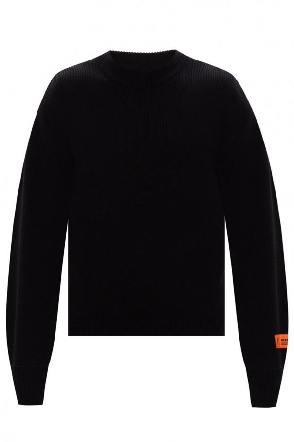 Heron Preston Printed rib-knit sweater