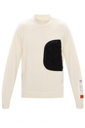 Rib-knit turtleneck sweater od Heron Preston