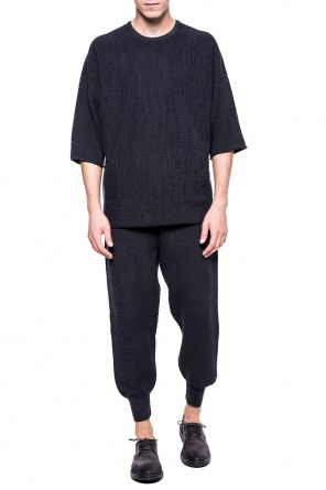 Sweater with short sleeves od Homme Plisse Issey Miyake