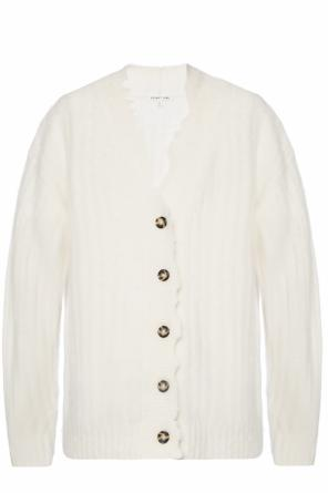 Cardigan with a raw finish od Helmut Lang