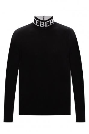 品牌高领毛衣 od Iceberg