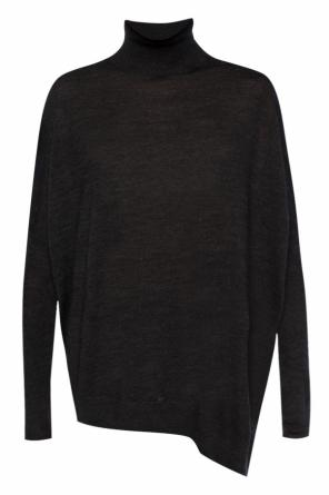Asymmetrical turtleneck sweater od Allsaints