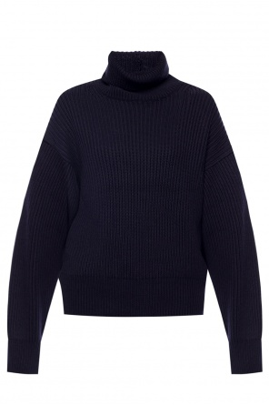 Ribbed turtleneck sweater od Helmut Lang
