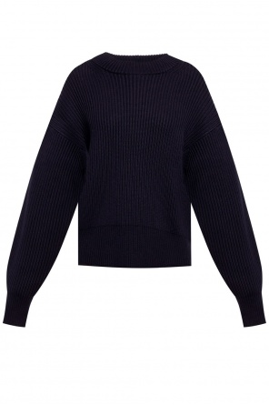 Rib knit sweater od Helmut Lang