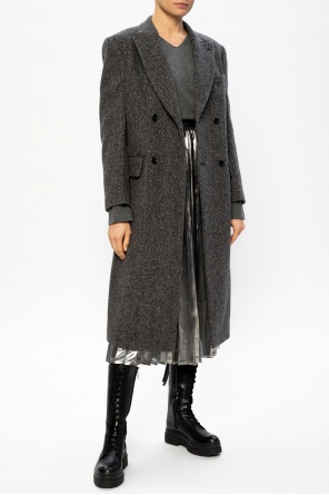 Wełniany sweter od Junya Watanabe Comme des Garcons