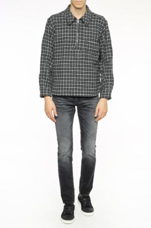 Checked sweater with collar od Marni