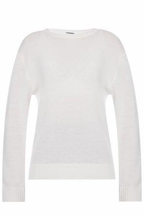 Wełniany sweter od JIL SANDER+