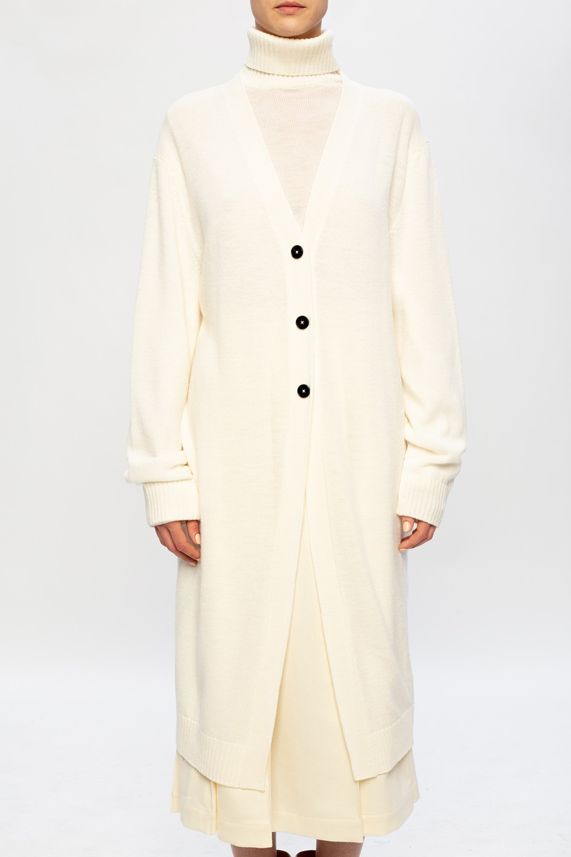 JIL SANDER Wool cardigan