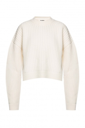 Ribbed sweater od JIL SANDER