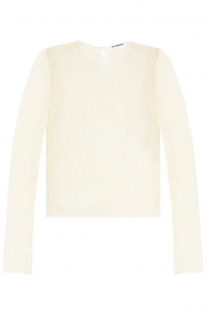 Ażurowy sweter od JIL SANDER