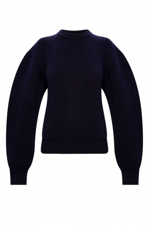 Knit-rib sweater od JIL SANDER