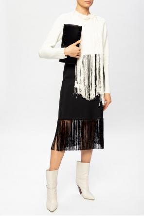 Sweater with detachable fringes od JIL SANDER