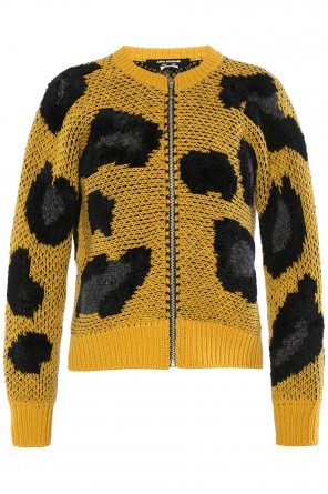 Leopard print cardigan od Junya Watanabe Comme des Garcons