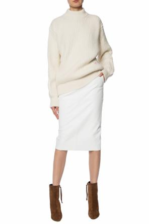 Logo-embroidered sweater od Victoria Beckham