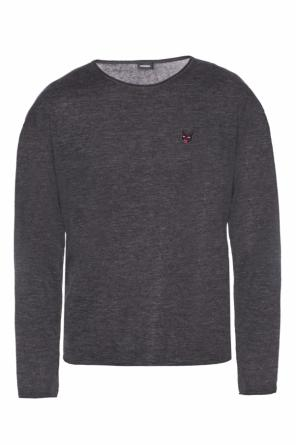 Sweater with long sleeves od Diesel