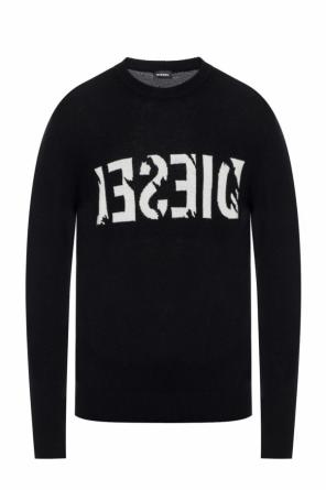 Sweater with embroidered logo od Diesel