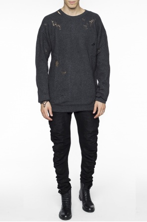 Long sweater with holes od Diesel