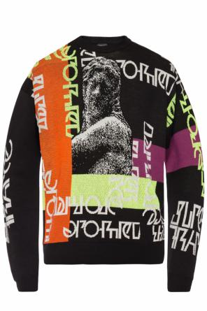 Colourful-jacquard sweater od Diesel