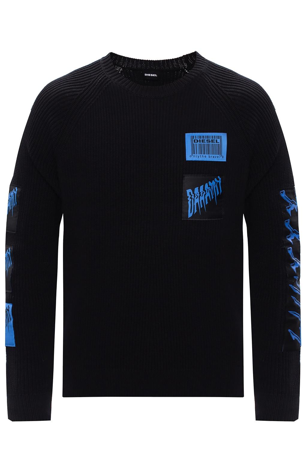 Diesel Rib-knit sweater