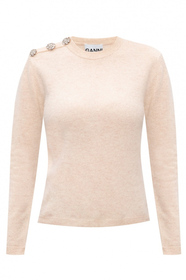 Ganni Sweater with logo