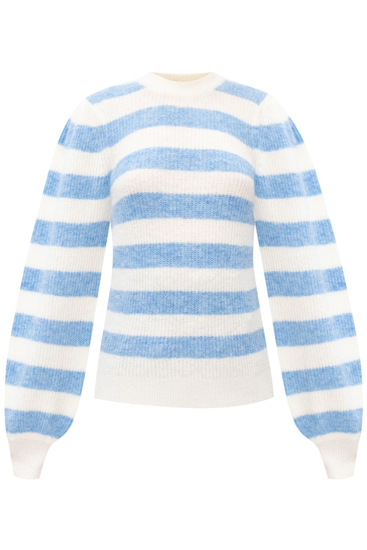 Ganni Puff sleeve sweater