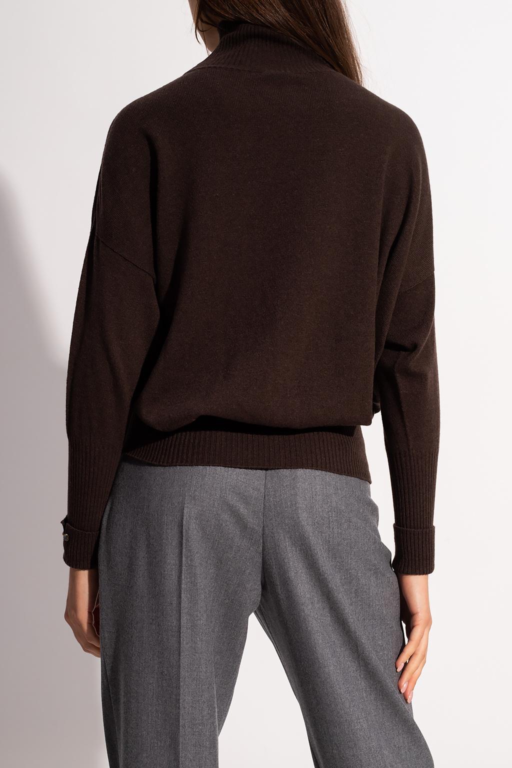 Agnona Cashmere turtleneck sweater
